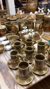 Mug with Saucers