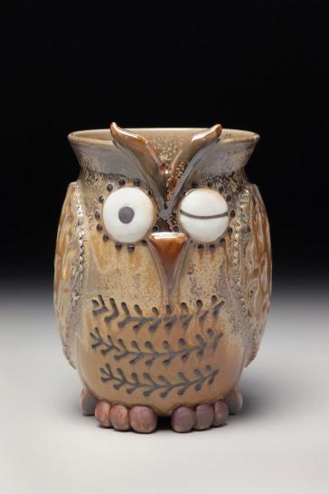 Owl Utlensil Holder